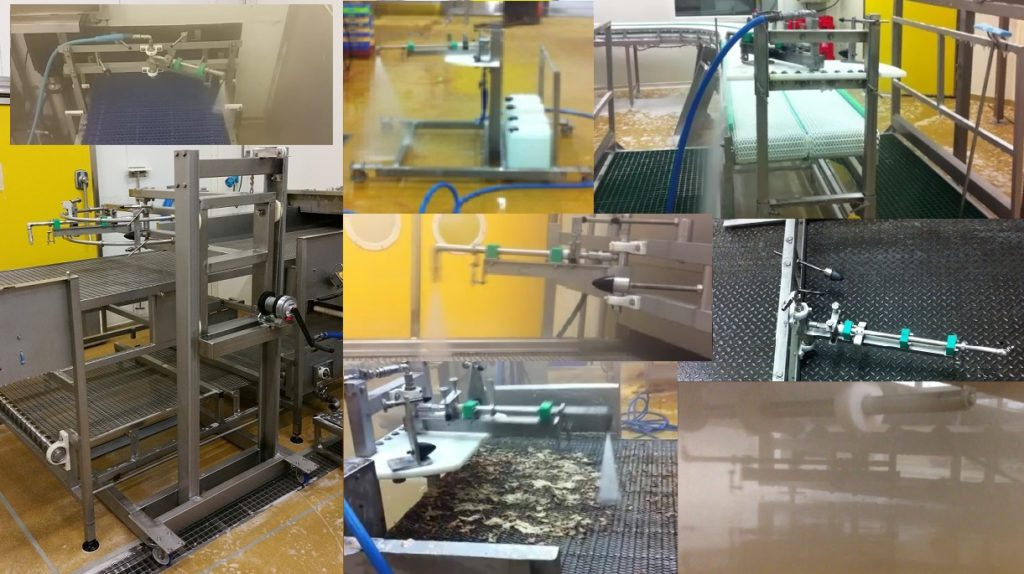 Agri-food cleaning